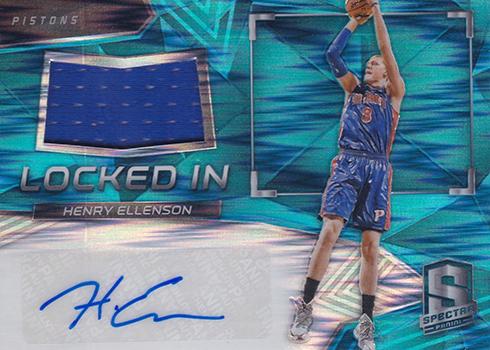 2016-17 Panini Spectra Basketball Locked In Neon Blue Henry Ellenson