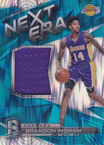 2016-17 Panini Spectra Basketball Next Era Neon Blue Brnadon Ingram