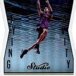2016-17 Panini Studio Basketball Defying Gravity