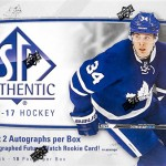 2016-17 SP Authentic Hobby Box