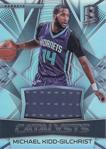 2016-17 Spectra Basketball Catalysts Michael Kidd-Gilchrist