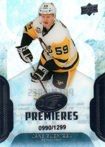 2016-17 Upper Deck Ice Jake Guentzel RC