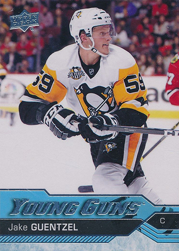 2016-17 Upper Deck Jake Guentzel Young Guns RC