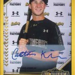 2017 Bowman Draft Baseball All-America Autograph Gold Frame