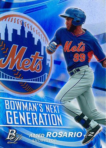 2017 Bowman Platinum Baseball Bowmans Next Generation Amed Rosario