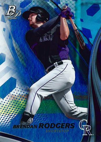 2017 Bowman Platinum Baseball Brendan Rodgers