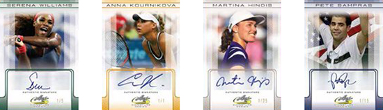 2017 Leaf Signature Series Tennis
