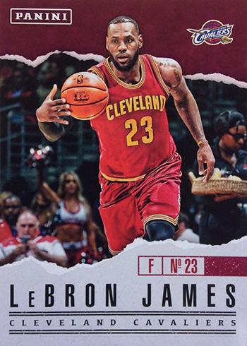 2017 Panini Fathers Day Base LeBron James