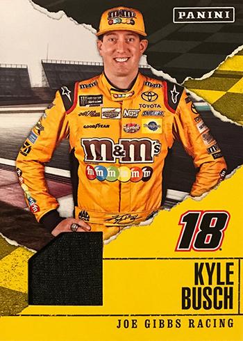 2017 Panini Fathers Day NASCAR Memorabilia Kyle Busch