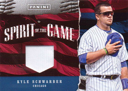 2017 Panini Fathers Day Spirit of the Game Kyle Schwarber