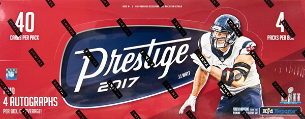 2017 Panini Prestige Football Hobby Box