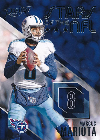 2017 Panini Prestige Football Stars of the NFL Marcus Mariota
