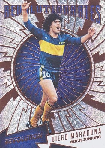 2017 Panini Revolution Soccer Revolutionaries Diego Maradona