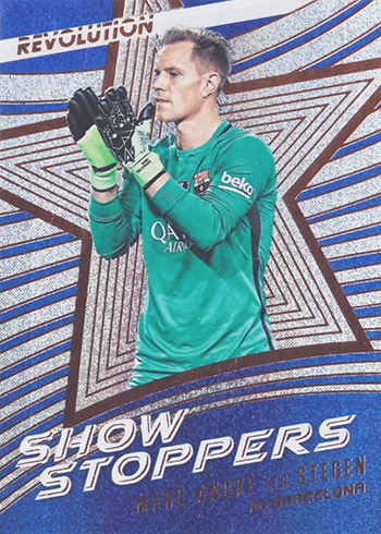 2017 Panini Revolution Soccer Showstoppers