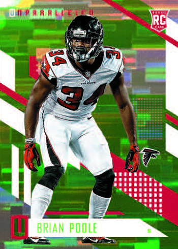 2017 Panini Unparalleled Football Base Lime Green