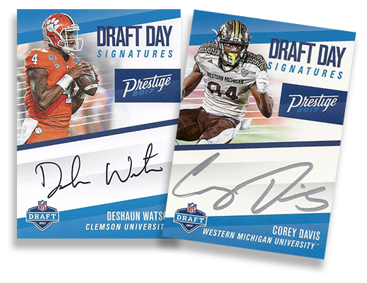 2017 Prestige Draft Day Signatures Header