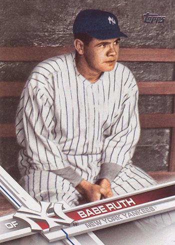 2017 T2 Var 580 Babe Ruth