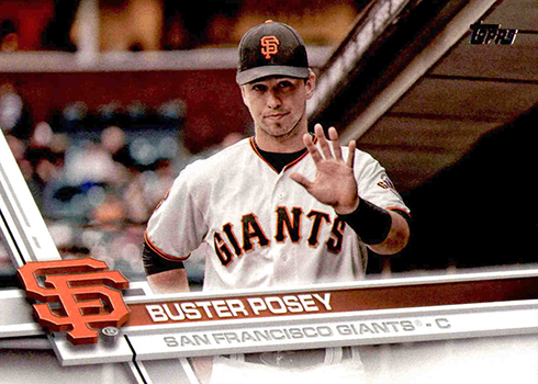 2017 T2 Var 675 Buster Posey