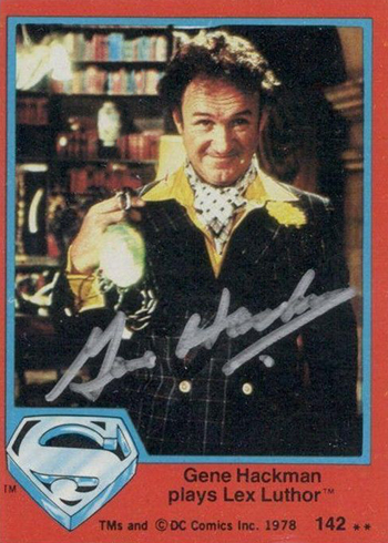 2017 Topps Archives Gene Hackman Buyback Autograph