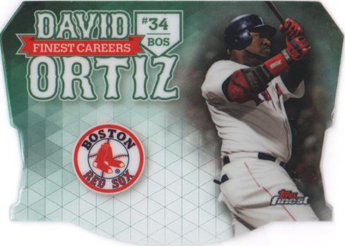 2017 Topps Finest Baseball Finest Careers David Ortiz