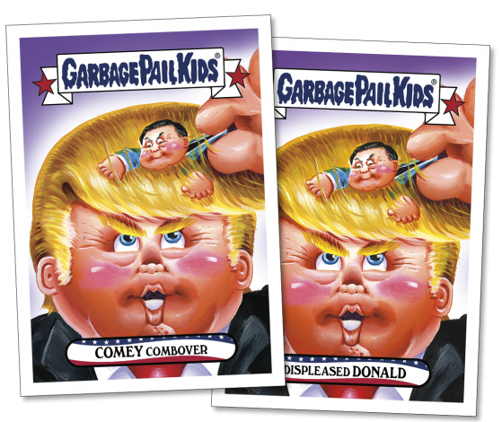 2017 Topps GPK Comedy of Comey 3