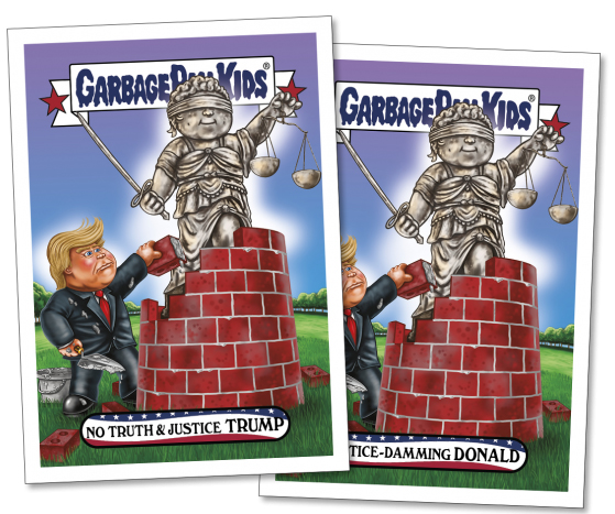 2017 Topps GPK Comedy of Comey 4