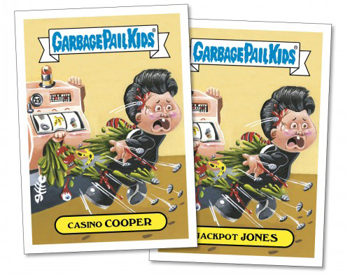 2017 Topps GPK Wacky Packages Summer TV 1