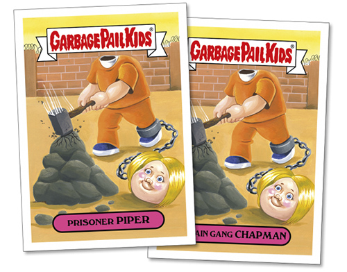 2017 Topps GPK Wacky Packages Summer TV 2