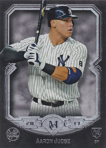 2017 Topps Museum Collection Aaron Judge