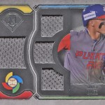 2017 Topps Museum Collection Baseball Primary Pieces WBC Javier Baez