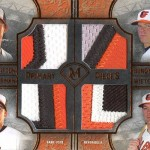 2017 Topps Museum Collection Primary Pieces Quad Player