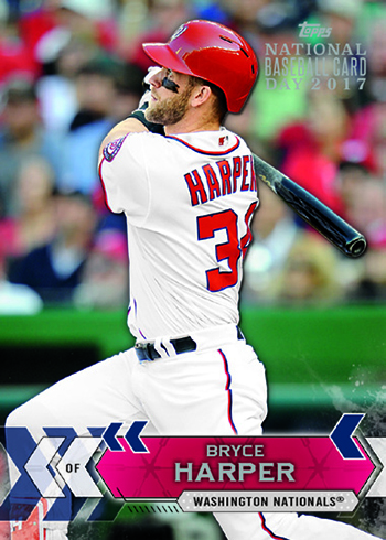 2017 Topps National Baseball Card Day Bryce Harper