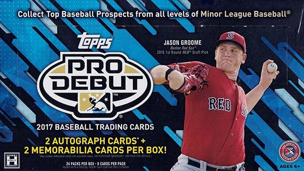 2017 Topps Pro Debut Hobby Box