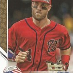 2017 Topps Series 2 Independence Day Bryce Harper