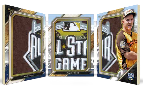 2017 Topps Triple Threads Baseball Triple Threads All-Star Jumbo Book