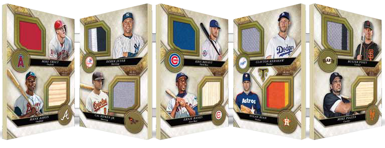 2017 Topps Triple Threads Baseball Triple Threads Deca Relic