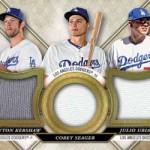 2017 Topps Triple Threads Baseball Triple Threads Relic Combo Card