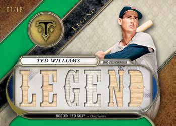 2017 Topps Triple Threads Baseball Triple Threads Relic Legends