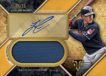 2017 Topps Triple Threads Baseball Triple Threads Unity Autograph Jumbo Relic