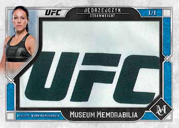 2017 Topps UFC Museum Collection Museum Memorabilia