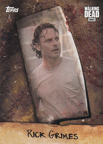 2017 Topps Walking Dead Season 6 Chop