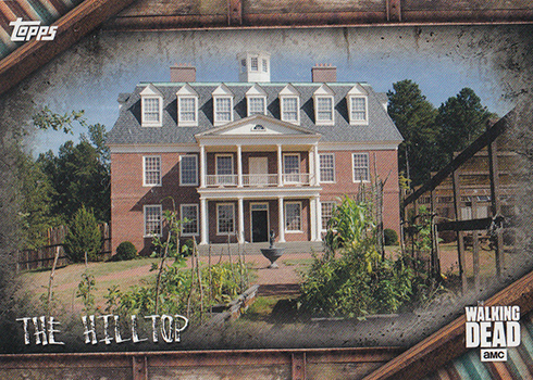 2017 Topps Walking Dead Season 6 Locations