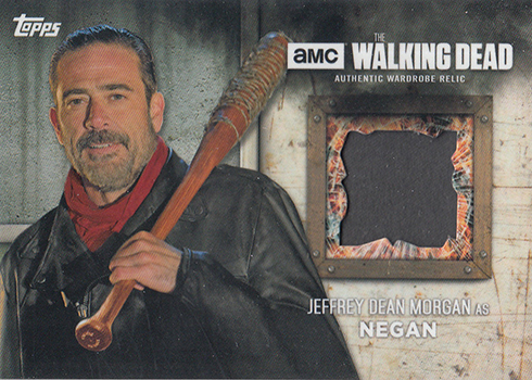 2017 Topps Walking Dead Season 6 Relics Negan