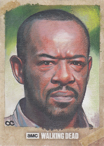 2017 Topps Walking Dead Season 6 Sketch Card Carlos Cabaleiro
