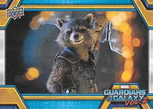 2017 Upper Deck Guardians of the Galaxy Vol 2 Base
