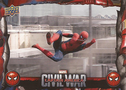 2017 Upper Deck Spider-Man Homecoming Civil War