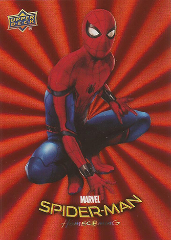 2017 Upper Deck Spider-Man Homecoming Red Foil