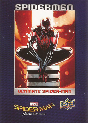 2017 Upper Deck Spider-Man Homecoming Spider-Men