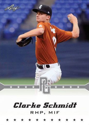 Clarke Schmidt 2013 Leaf Perfect Game