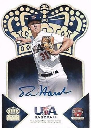 Tanner Houck 2015 USA Baseball Crown Royale Autograph